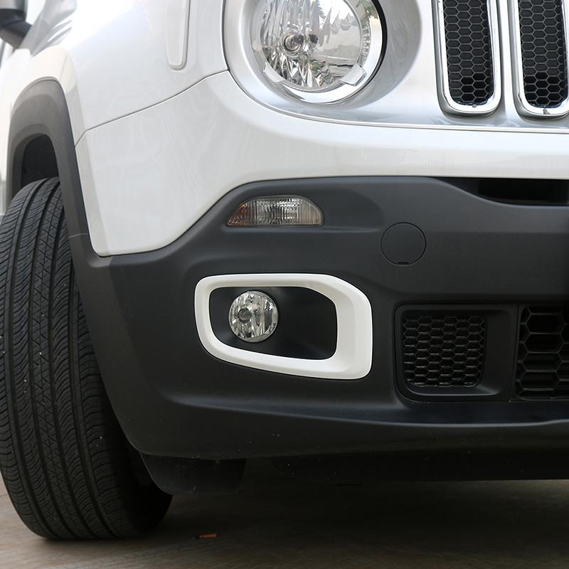 QWSNED Auto Nebelscheinwerfer Dekoration Abdeckung Auto Au/ßendekoration Zubeh/ör F/ür Suzuki Jimny 2019 2020