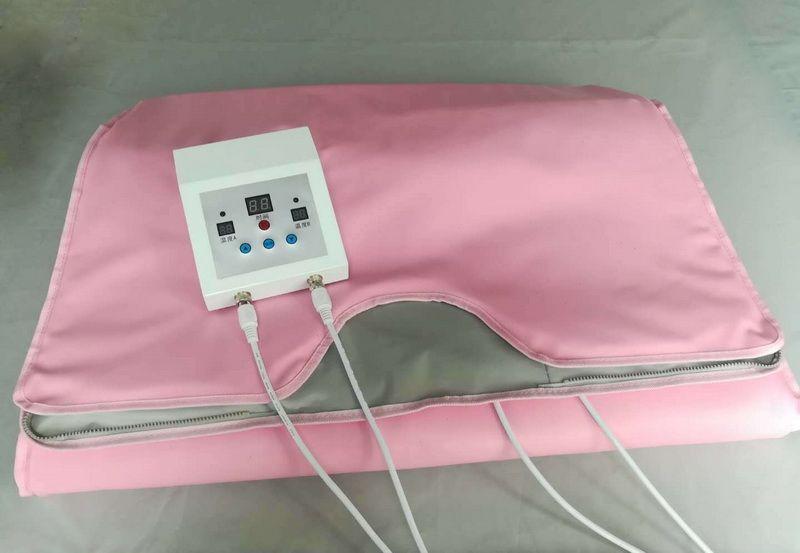 FIR Sauna Far Infrared Body Slimming Sauna Blanket Heating Therapy Slim Bag Sauna Thermal Blanket Weight Loss Body Detox Machine