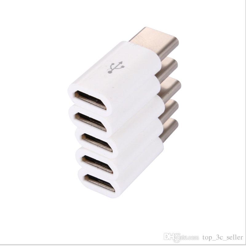 من أجل ZUK Micro إلى محول c نوع V8 إلى TYPE-C مع أنثى USB لتحويل 3.1 دعم محولات OTG Cell Phone