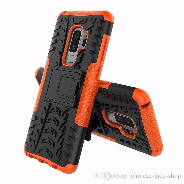 Hybrid KickStand Impact Rugged Heavy Duty TPU+PC Shock Proof case Cover for Samsung Galaxy S9 S9 PLUS J2 PRO A5 A8 A8 PLUS 50P