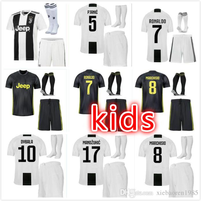 2020 2019 Ronaldo Juventus Kids Soccer Jersey 18 19 Juve Ronaldo Jerseys 2018 Home Away Dybala Higuain Football Shirt Cristiano Uniform Team From Xiebaoren1985 22 28 Dhgate Com