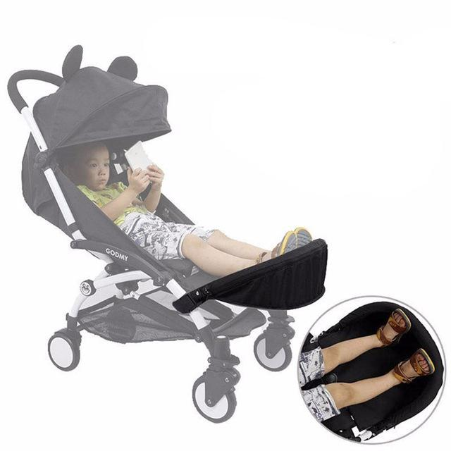Akcesoria do wózka dziecięcego Fit Board Fit I.Belive BabyZenes + Carriage Foot Rest Stopy Przedłużanie 32cm Footmuff
