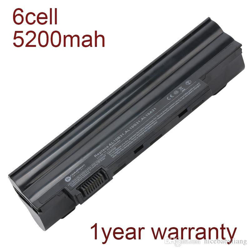 6 cell laptop battery AL10B31 LC.BTP00.128 BT.00303.022 AL10G31 for acer Aspire One AO522 AO722 AOD255 E100 D260 D257 D255