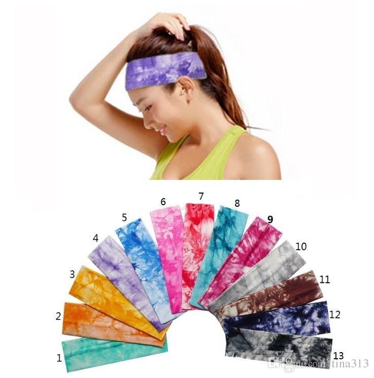 Il nuovo sport fitness Fascia elastica assorbente yoga Fascia in tinta unita stampata in puro cotone tinta unita Sport T4H0156