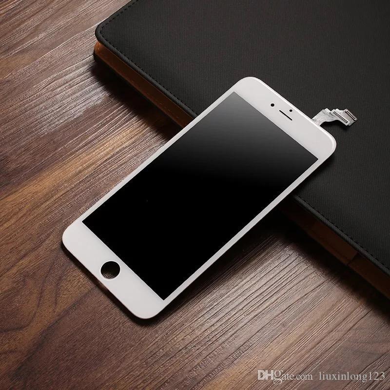 L'iPhone original 6 dispose d'un écran LCD et un écran tactile 6G. Plein écran avec le logo
