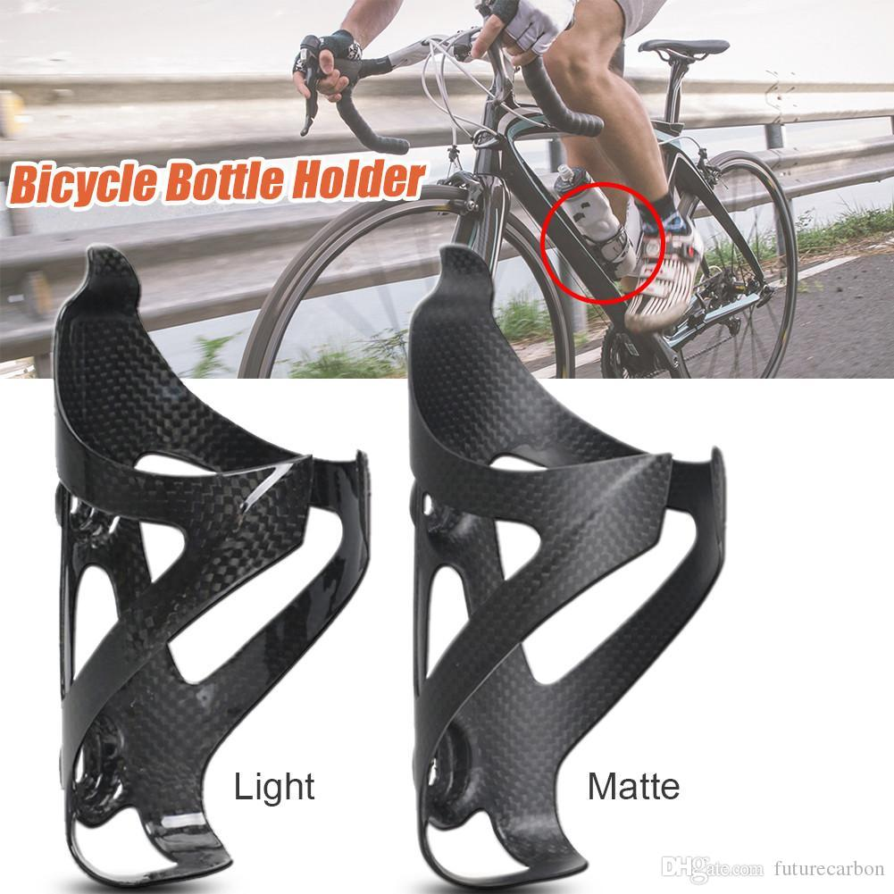 Full Carbon Fiber MTB Bike Cycling Water Bottle Cages Bicycle Bike Bottle Holder