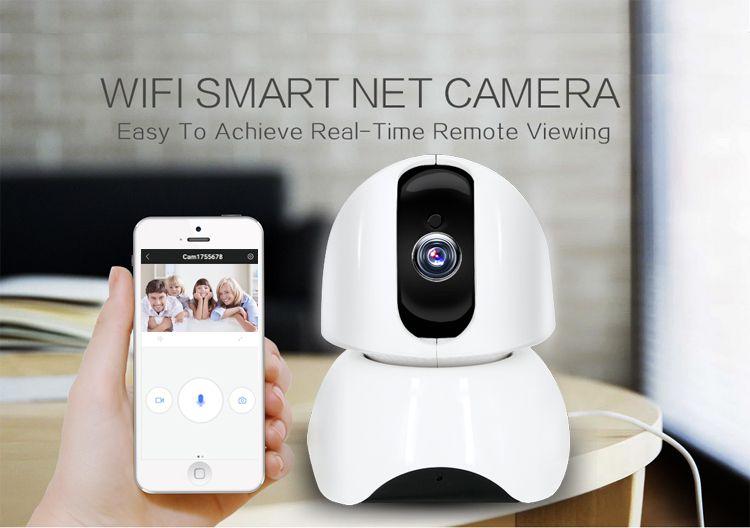 Wireless Smart WiFi IP Camera WI-FI Audio Record Surveillance camera Baby Monitor HD 1080P IR Night vision Mini CCTV Camera X3-UJ36