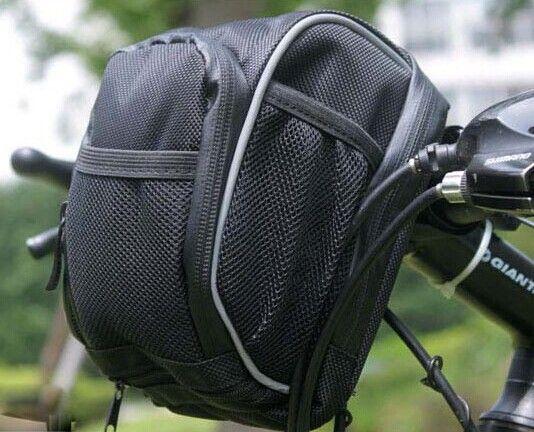 고품질 방수 새로운 Mountian 자전거 자전거 자전거 전면 프레임 튜브 핸들 바 블랙 + 레인 커버 무료 선박 BG0054