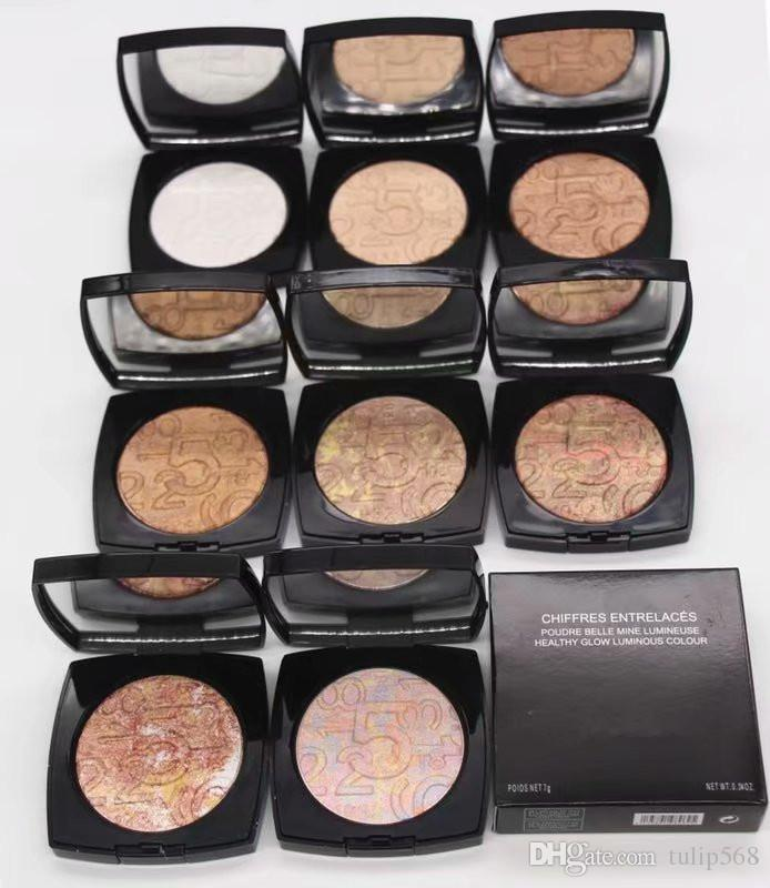 Free shipping 6pcs NEW Brand cosmetics high quality cosmetics 8 colors new products mineralized pastel pressed powder