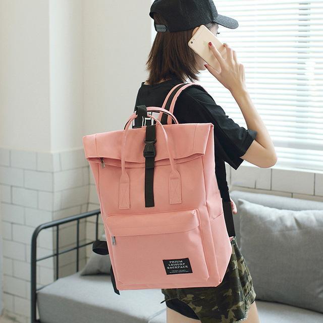 c7efd5dfb5f2 Women External USB Charge Backpack Canvas Backpack Male Mochila Escolar  Girls Laptop Backpack School Bags For Teens Q 48 Ladies Handbags Book Bags  ...