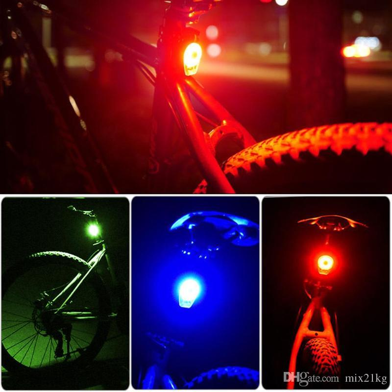 Bike USB Rechargeable Rear Bike Tail Light COB LED Bycicle Safety Rear Light