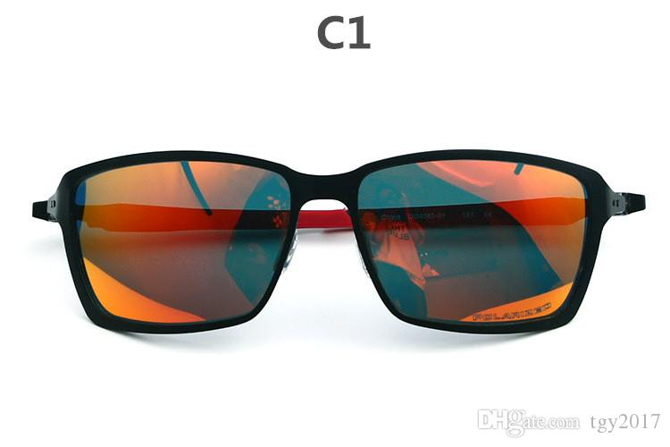 Высокое качество MagnesiumAlloy O4082 солнцезащитные очки мужские поляризованные солнцезащитные очки за пределами спортивных очков с поляризованной линзой и удобные безопасности