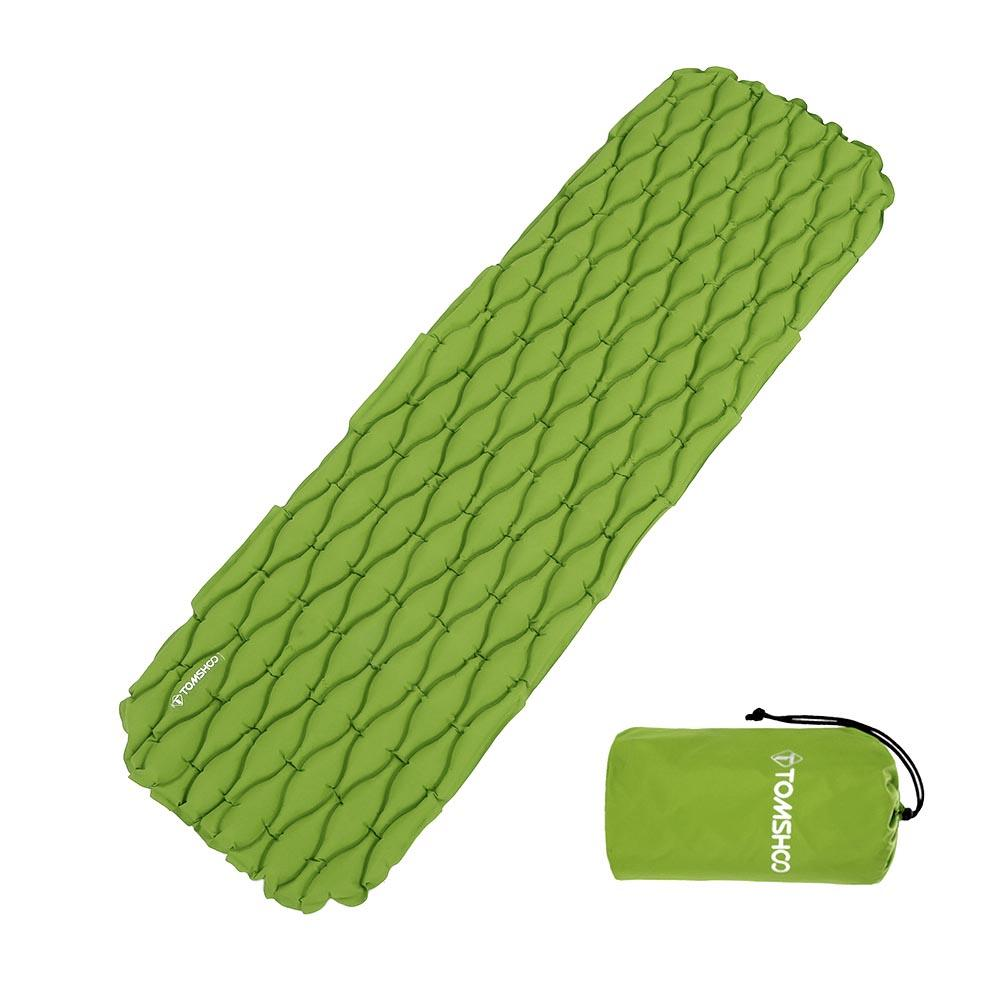 TOMSHOO Automatic Inflatable Sleeping Mat Mattress Mat Bad Tent Air Waterproof Ultralight Sleeping Pad Bags for Camping Fishing