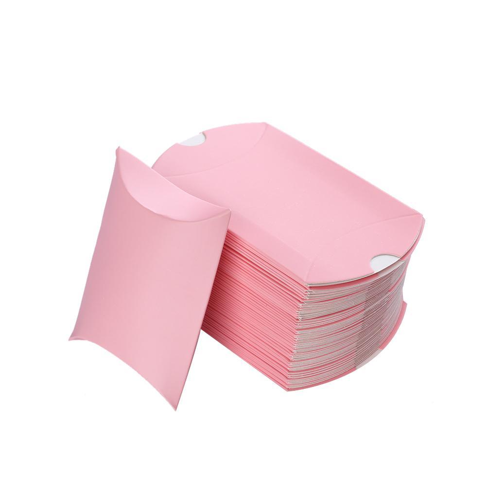 الملونة كرافت ورقة مربع الحلوى هدية حقيبة الزفاف هدية استحمام الطفل تفضل عيد الميلاد حزب اللوازم 10 قطعة / المجموعة