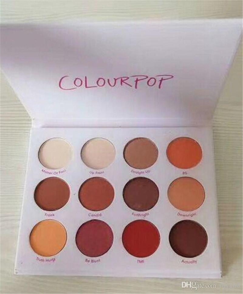 2018 New Colourpop Eyeshadow Palette أعطني إياي ظلال مستقيمة 12 لون مكياج ظلال العيون