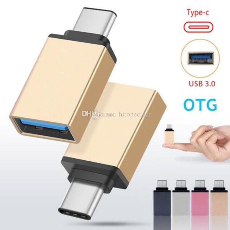 "Connettore USB Micro USB da Tipo a C da USB a Micro USB 3.0 per MacBook Oneplus / Xiaomi Mi4c / 12 """