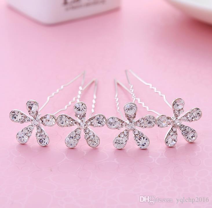 Flor nupcial horquilla novia accesorios para el cabello vestido de novia accesorios nupcial diamante sombreros