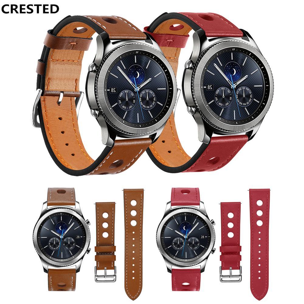 montre samsung gear s3 bracelet cuir
