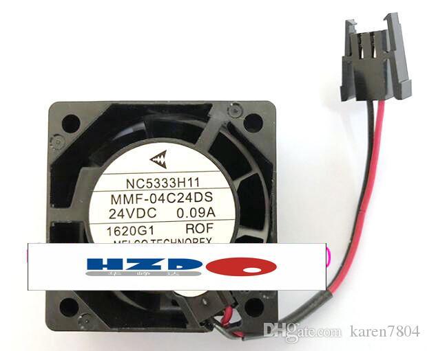 Nowy oryginalny wentylator falownika dla Mitsubishi Drive NC5333H11 MMF-04C24DS R0F 24V 0,09A 40 * 40 * 15mm MMF-04D05DM-RO0