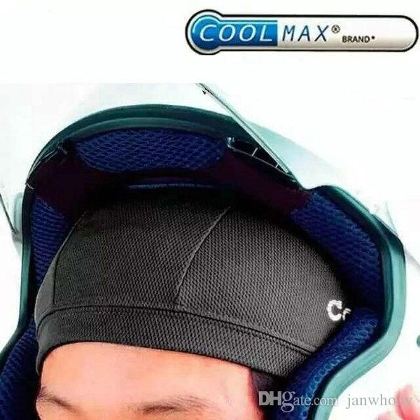 motorcycle breathable coolmax inner cap AK002 moto sports riding cooling head cover cap inside helmet quick dry