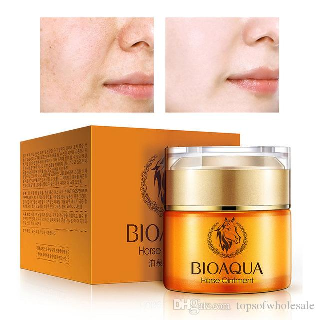 Bioaqua miracle glow day & night Creams Horse Moisturizing Oil Cream Oil-Control face Skin Care pigment cream beauty