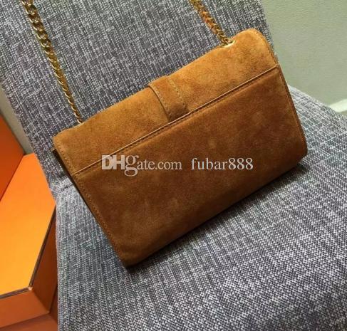 Sac sac épaule véritable qualité nubuck femmes cuir hight qualité qualité cuir geavory shoot expédition! Fhuaq