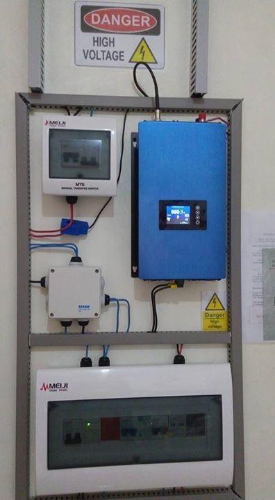 Sınırlayıcı Sensör DC22-60V veya 45-90V AC PV ile 1000W Pil Yedekleme MPPT Solar Izgara Tie Inverter bağlı