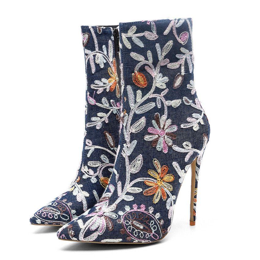 High Quality Women Fashion High Heel Shoes Superstar Luxury Designer Women Shoes Superstars Fashion Boots Sexy Women Dress Shoes Plus Size