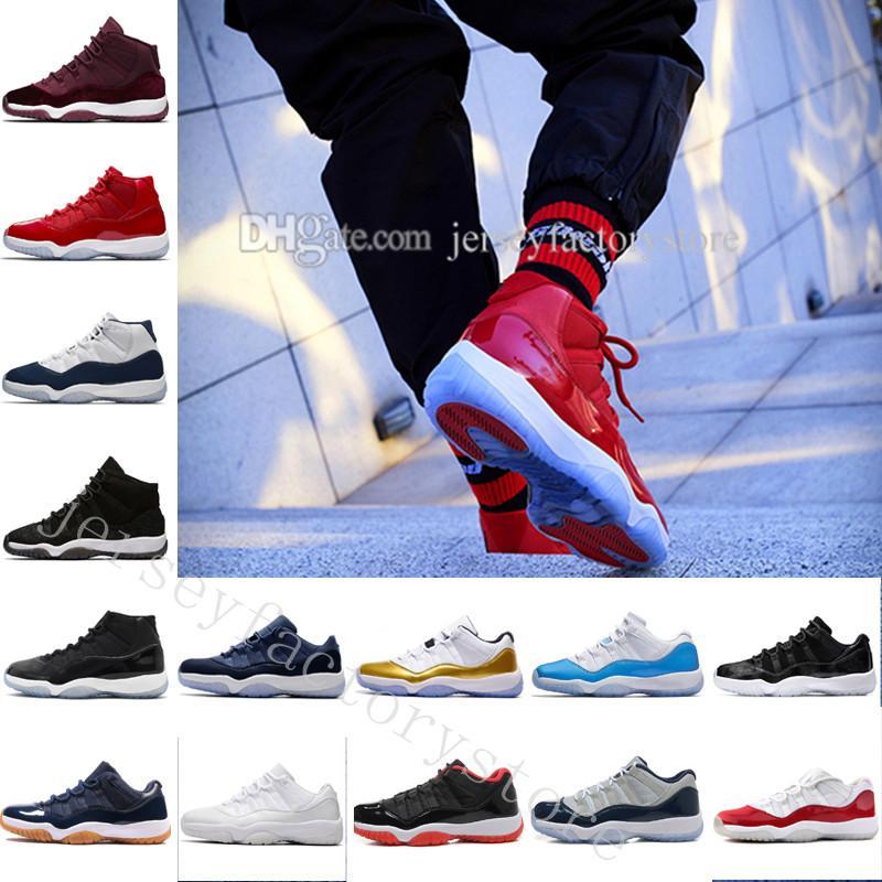 Cheap 11 GG Heiress Black Stingray Metallic Gold PRM Women Men Basketball Shoes Sneakers Girls Boy 11s Basket Ball Sport Trainers US 5.5-13