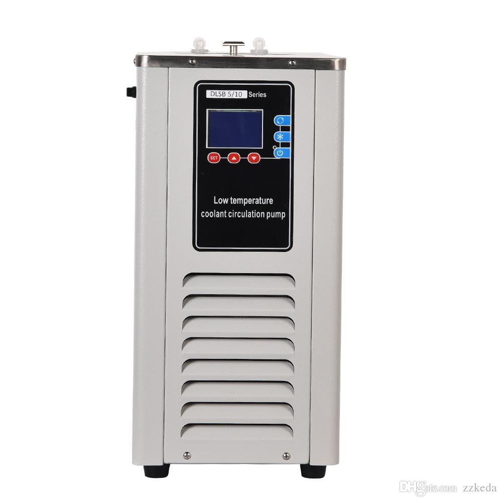 ZZKD petite capacité Lab basse température de refroidissement à circulation de liquide Pompe 5L laboratoire Chiller Cyclisme liquide Recirculating pompe de refroidissement