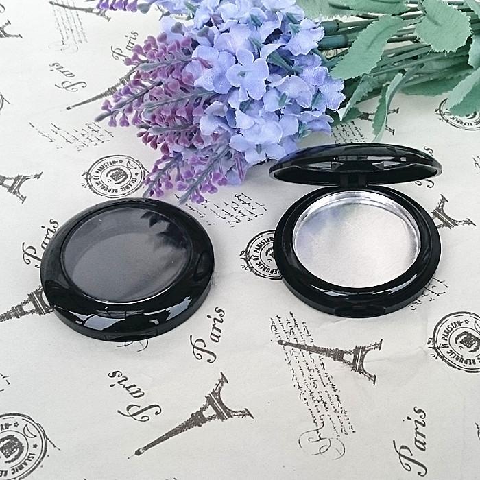 Ücretsiz kargo 100 adet / grup Boş allık durumda yuvarlak alüminyum tava Tek Paleti durumda Göz Farı makyaj