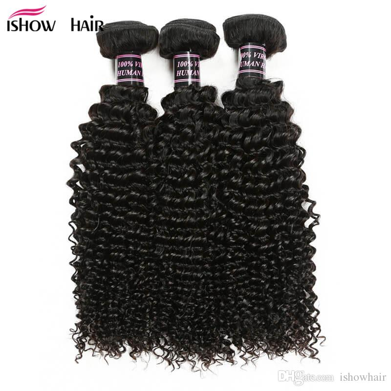 도매 저렴한 8A 밍크 브라질 곱슬 머리 버진 헤어 3 번들 좋은 저렴한 브라질 변태 곱슬 인간의 머리카락 번들 번들 무료 배송