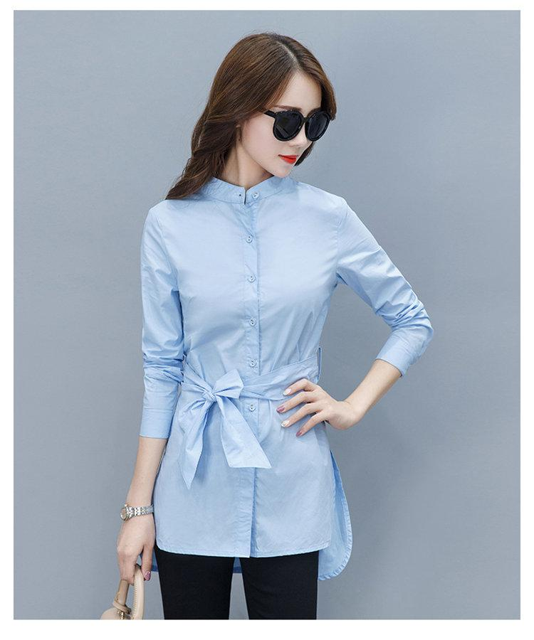 2019 Fall Women Shirts Fashion Chiffon Blouse Stripe Peplum Tops Women Bow Long Sleeve Blusas Mujer Fashion Rayas Chemise Femme (6)