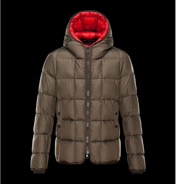 2019 neue Ankunfts-heiße Marke Verkaufs-Männer GIBRAN Schwarz Grau Blau unten Parka-Jacke Wintermantel Verkauf mit freiem Verschiffen Online