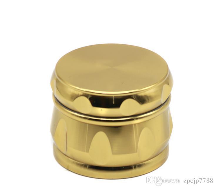 Chanfrein, tambour rhombique, côté concave, moulin à fumée or, 63mm de diamètre, le nouveau dispositif de coupe de fumée de type.