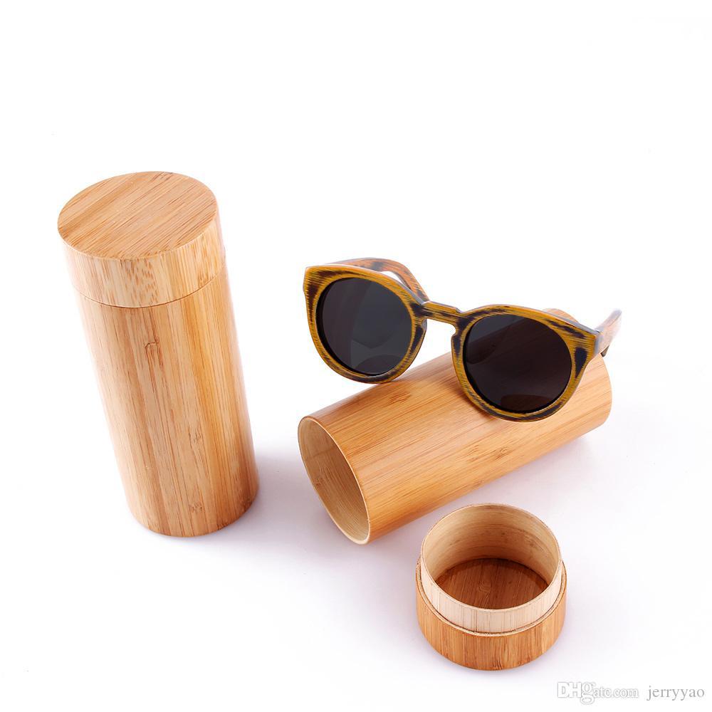 Solglasögon kvinnor mode bambu solglasögon polariserade trä solglasögon glasögon trä trä glasögon UV400 skydd högkvalitativa gåvor