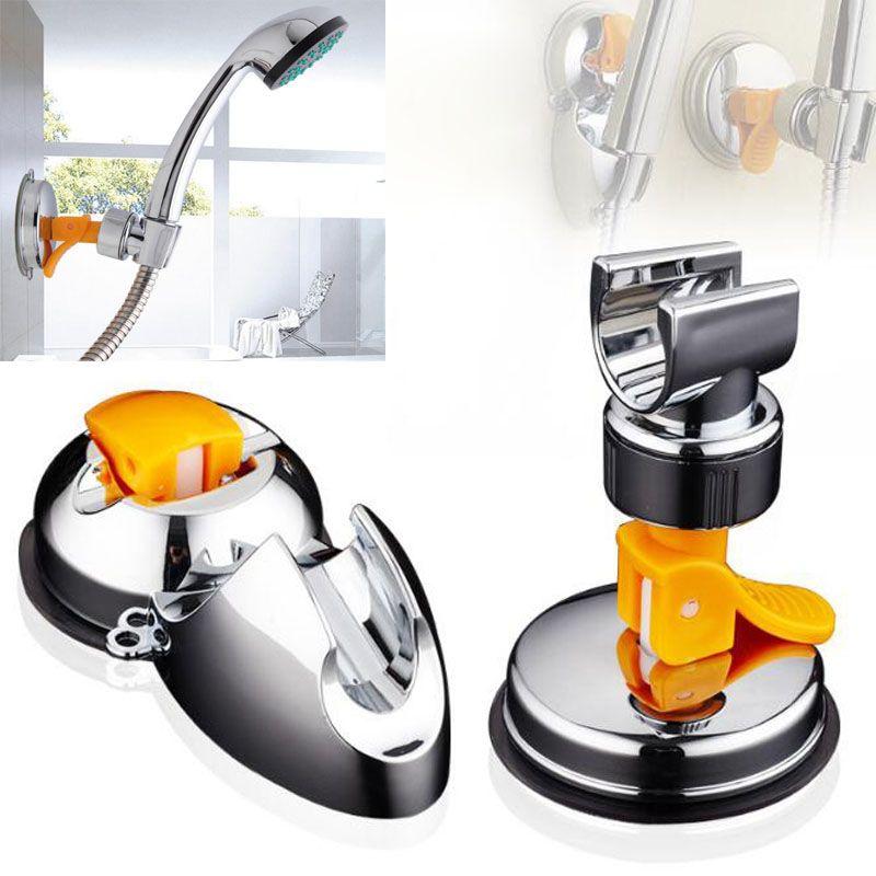 Banyo Duş Başlıkları Braketi Koltuk Banyo Ayarlanabilir Duş Başlığı Tutucu Raf Braketi Vantuz Duvara Monte Yedek Tutucu