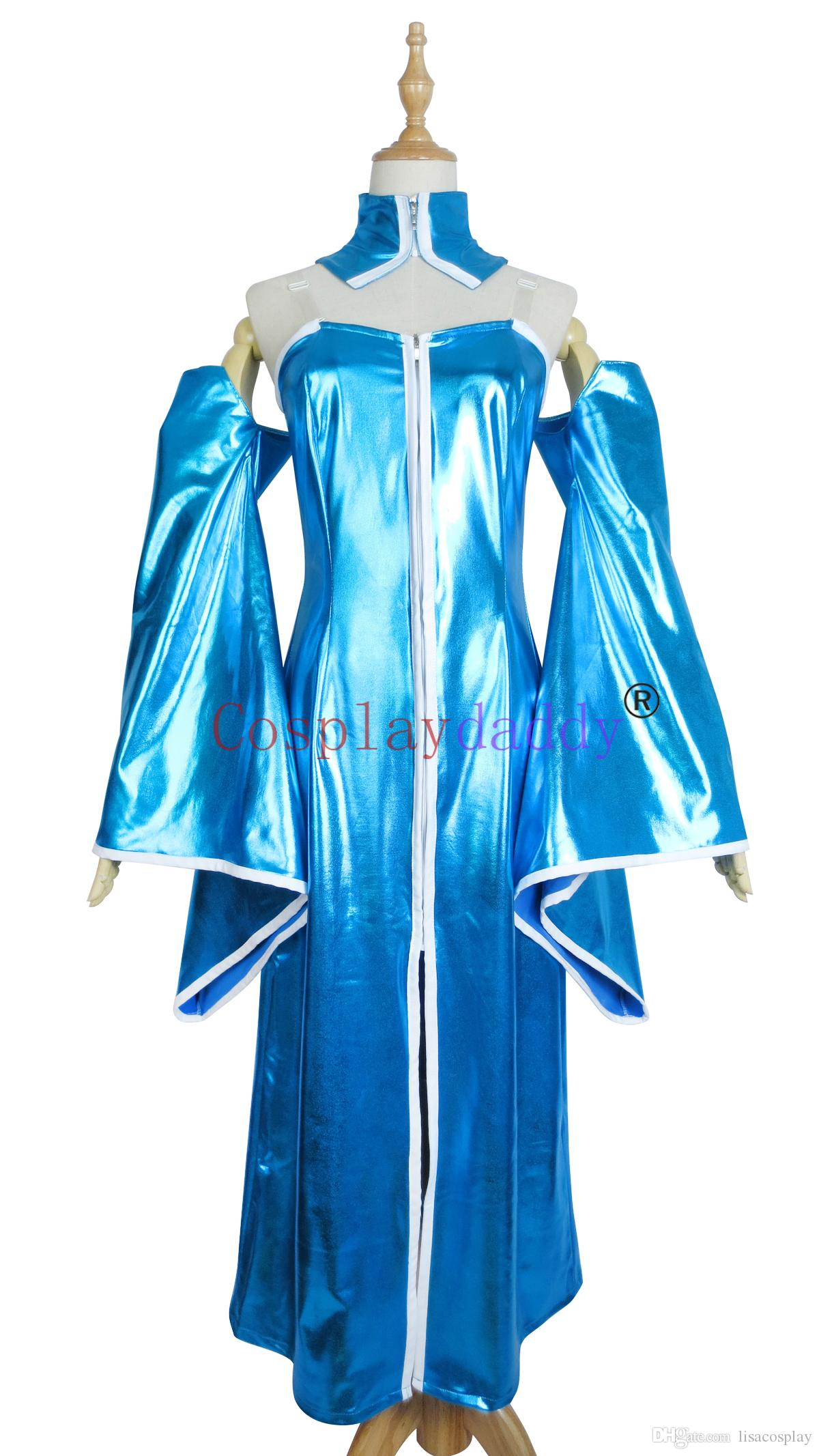 Mobile Suit Gundam SEED Lacus Clyne Uniform COS Clothing Cosplay Costume