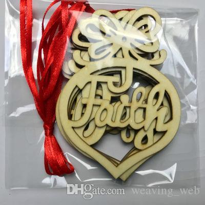 6pcs ornements d'arbre de noël noël suspendu décoration de noël pendentif fête mariage anniversaire décoration arts artisanat cadeaux