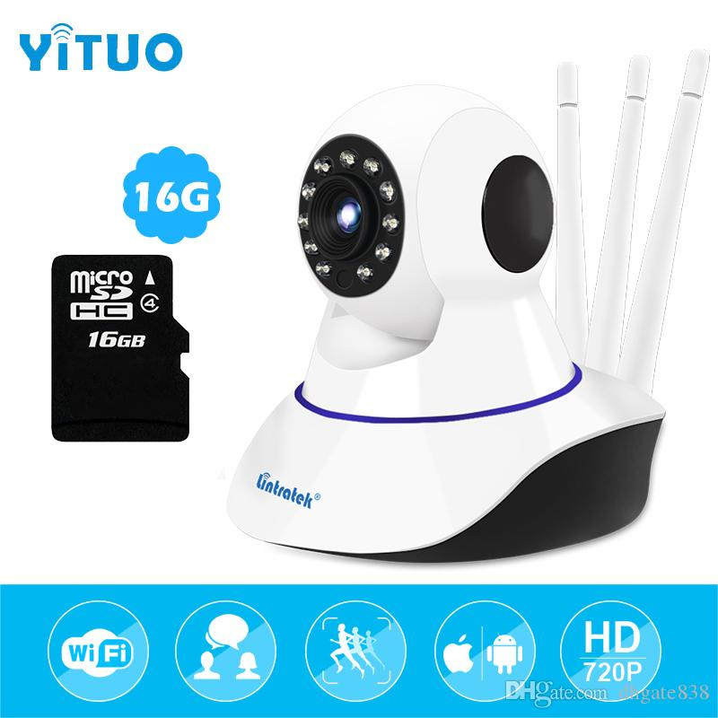 IP gözetim wifi kamera 720 P HD kablosuz wi-fi ev Güvenlik mini CCTV Kamera 16G sd kart ile Üç Antenler