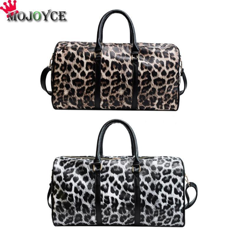 Leopardo bolso de Crossbody de las mujeres bolsa de gran capacidad Bolsas recorrido del hombro para las mujeres 2018