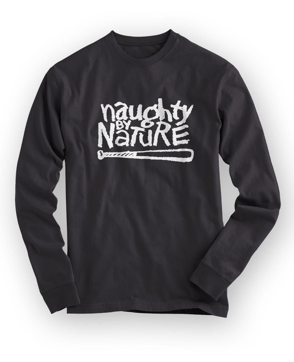 New NAUGHTY BY NATURE Rap Hip Hop Music Logo Men/'s Black T-Shirt Size S to 3XL