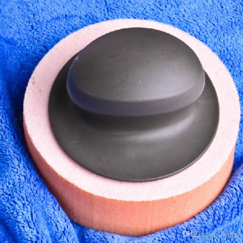 Car Waxing Esponja Placa de Polimento Cera De Carro Com Alça de Algodão Encerado Lavagem Ferramenta de Limpeza Conjunto de Ferramentas de Algodão Encerado Especial EMS 20 PCS