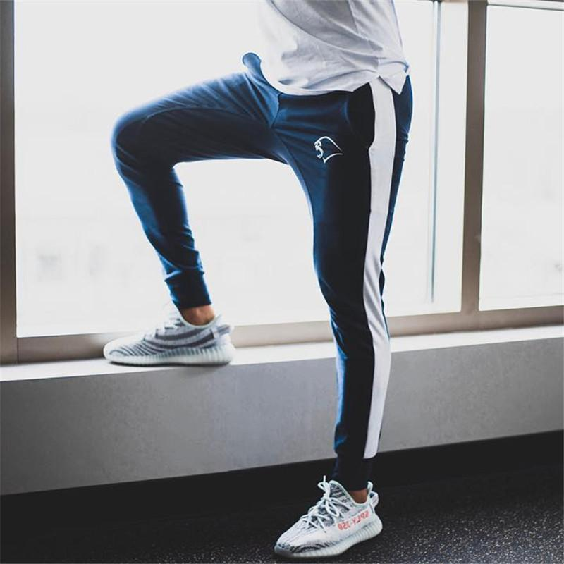 double coupon various styles where can i buy 2019 Sport Suit Pants Men'S Running Track Pants Fitness Clothing Gym  Leggings Cotton Joggers Male Boxer Training Sweat Men From Capsicum,  &Price; | ...