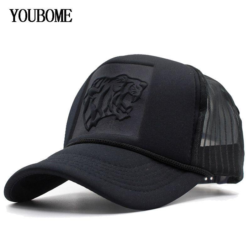 YOUBOME Beyzbol Şapkası Kadınlar Siyah Snapback Erkekler Mesh Yaz Hip hop Casquette Kemik Yaz Erkek Baba Cap Hat İçin Erkekler Caps Şapka