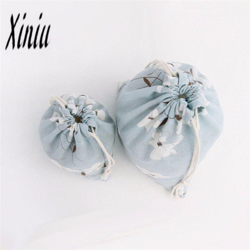 1 Adet alışveriş çantaları Çiçek Desen İpli çanta Sıcak Satış kadının çantası Saco de moda para mujer büyük indirim çanta