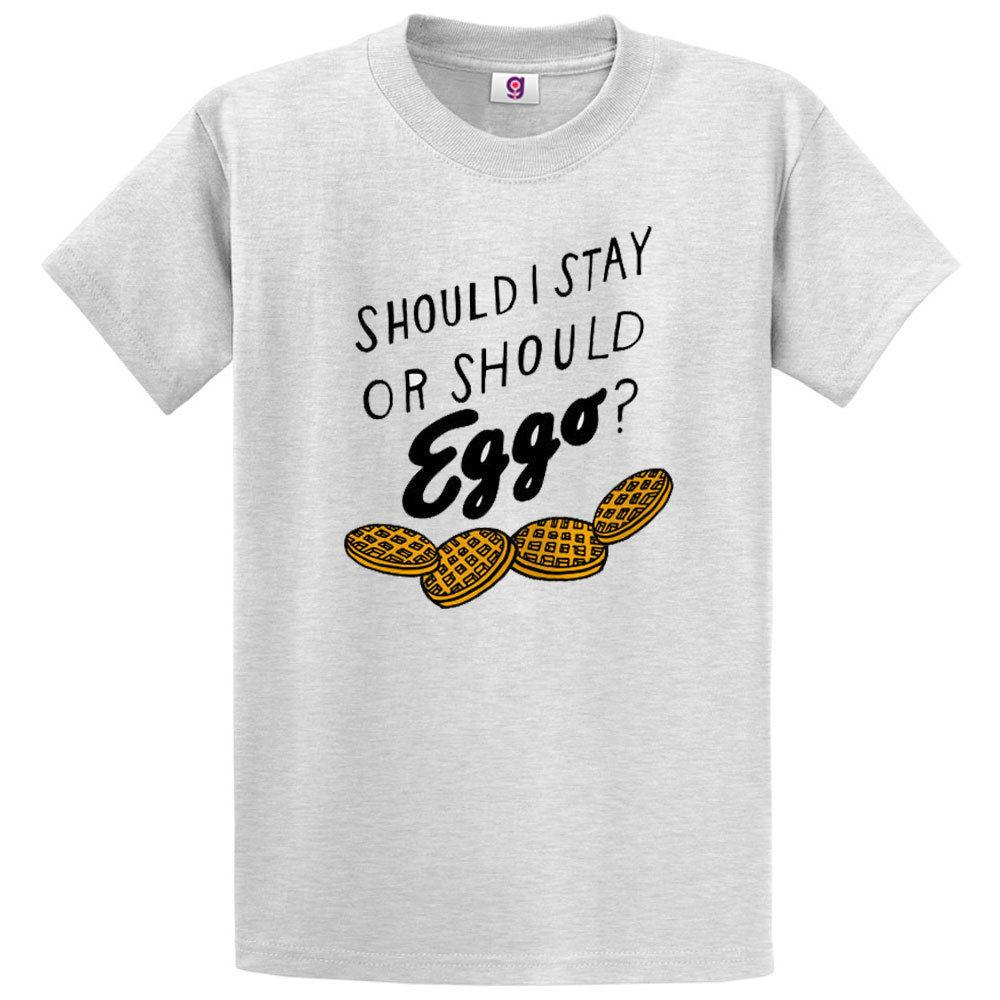 Should I Stay Or Should Eggo Stranger Things Inspired T-Shirt Tee Top