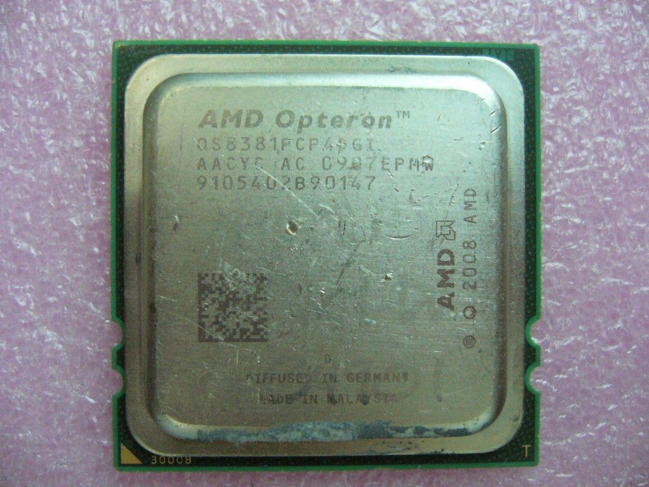 CANTIDAD 1x AMD Opteron 8381 HE 2.5 GHz Quad-Core (OS8381PCP4DGI) CPU Socket F 1207