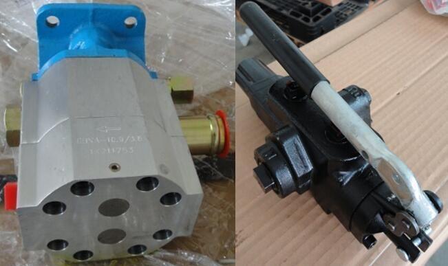 Pompe idrauliche idrauliche di alta qualità CBNA 13 / 4.2 e valvole direzionali per presse per taglio legna da ardere