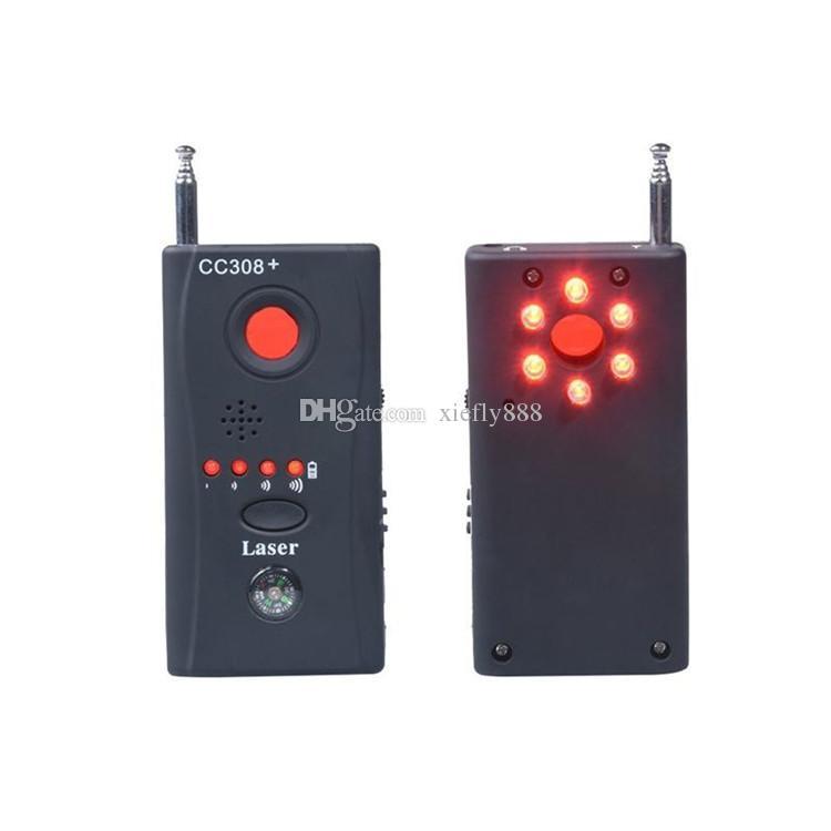 CC308 + كاميرا كاشف متعدد كاشف السلكية إشارة لاسلكية gsm جهاز كامل التردد كامل المدى مكتشف أسعار الجملة